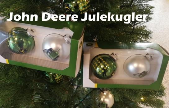 John Deere julekugler - Herborg