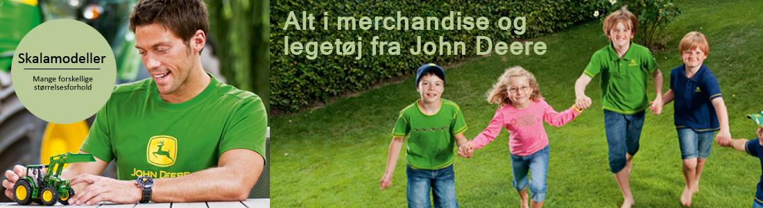 John Deer skalamodeller