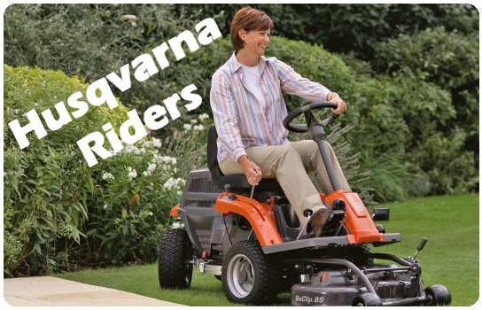 Billige Husqvarna riders