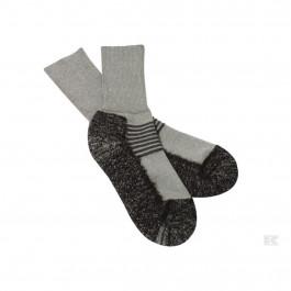 Vinterstrømper grå/sort