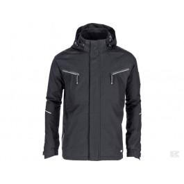 Sort jakke med hætte Technical