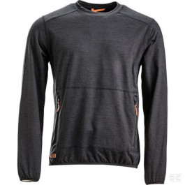 Sweatshirt O-hals Active fleece koksgrå