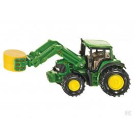 Legetøjs John Deere traktor m/balletang