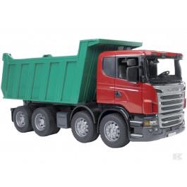 Scania lastbil med tiplad