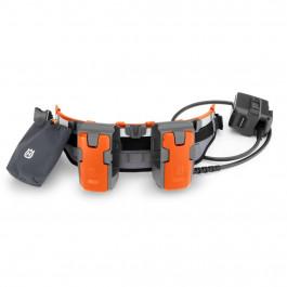Husqvarna batteribælte med adapter