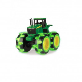 John Deere monstertruck m. lys i hjul