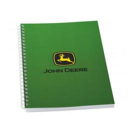 John Deere notesblok