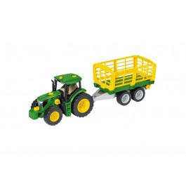 John Deere traktor m/trailer 6215R