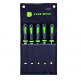 John Deere filesæt 5 dele