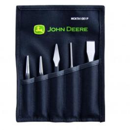 John Deere mejselsæt 5 dele