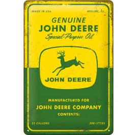 "John Deere Skilt ""Special-Purpose Oil"""