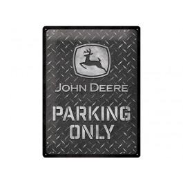 """John Deere skilt """"parking only"""""""