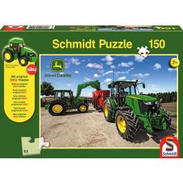 Puslespil traktor M-Serie