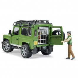 Bruder Land Rover bil  m/mand