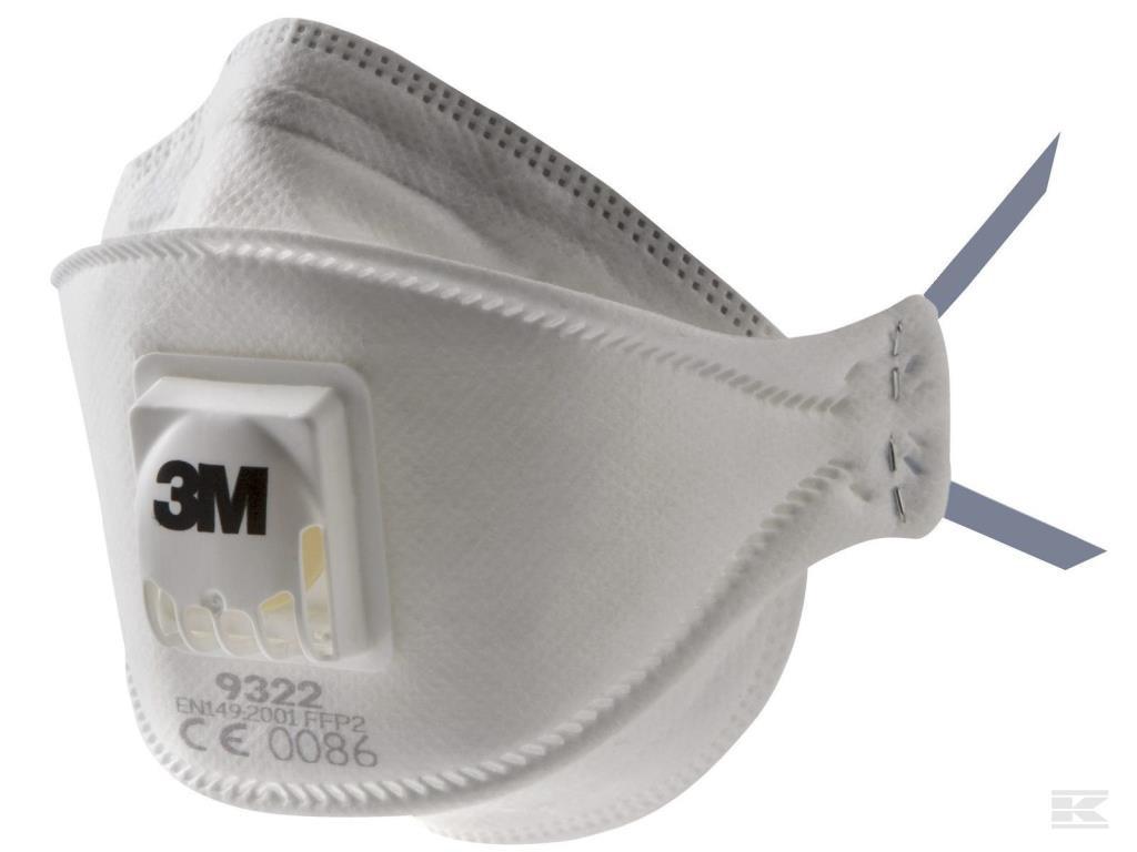 Sikkerhedsmaske 3M