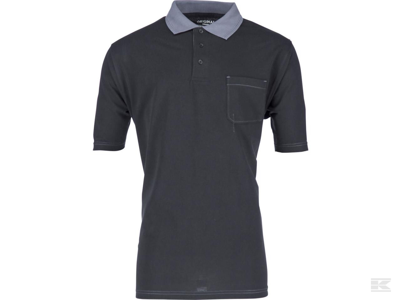 Polo T-shirt Original sort/grå