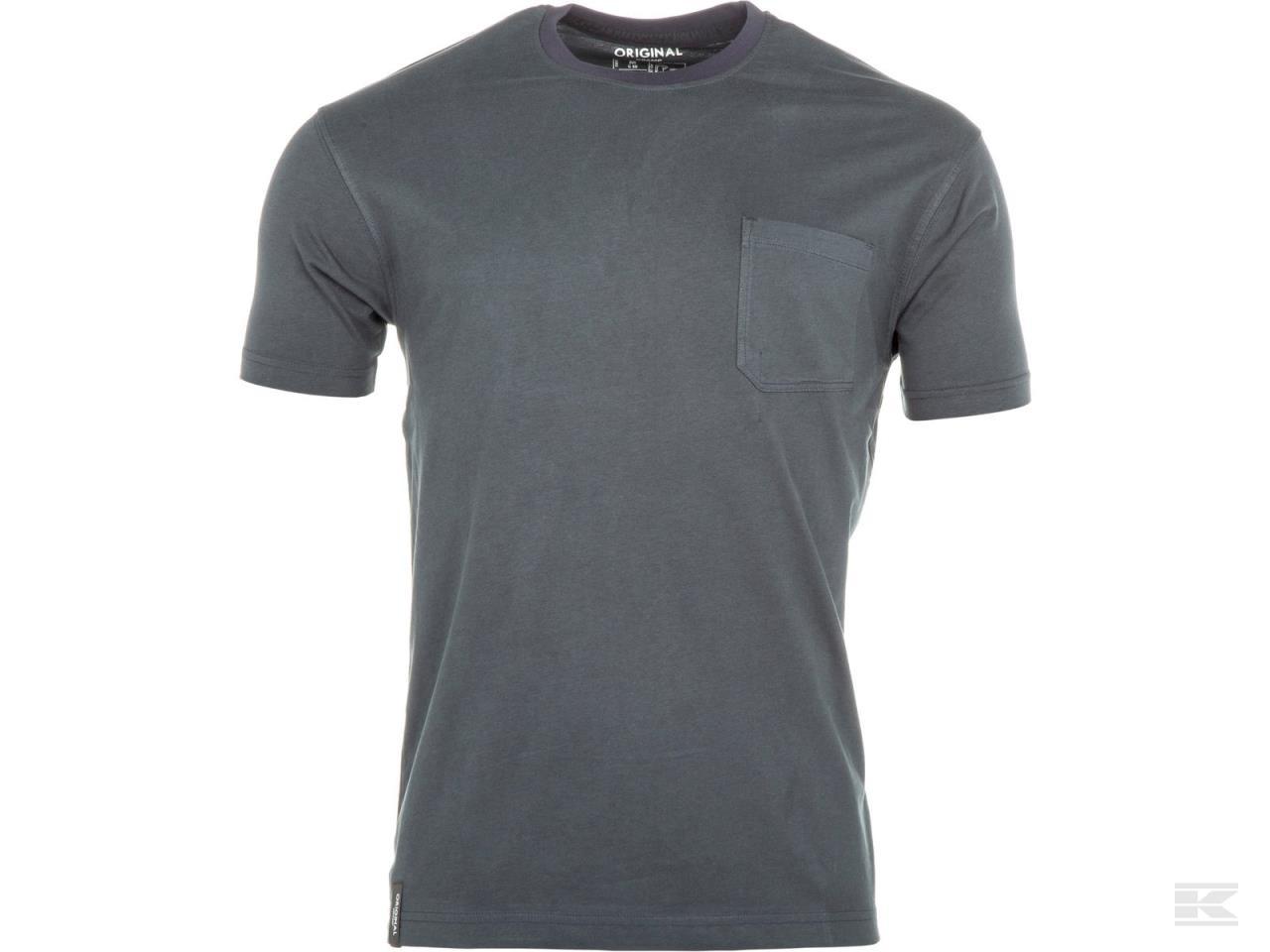 T-shirt Original grøn/marineblå