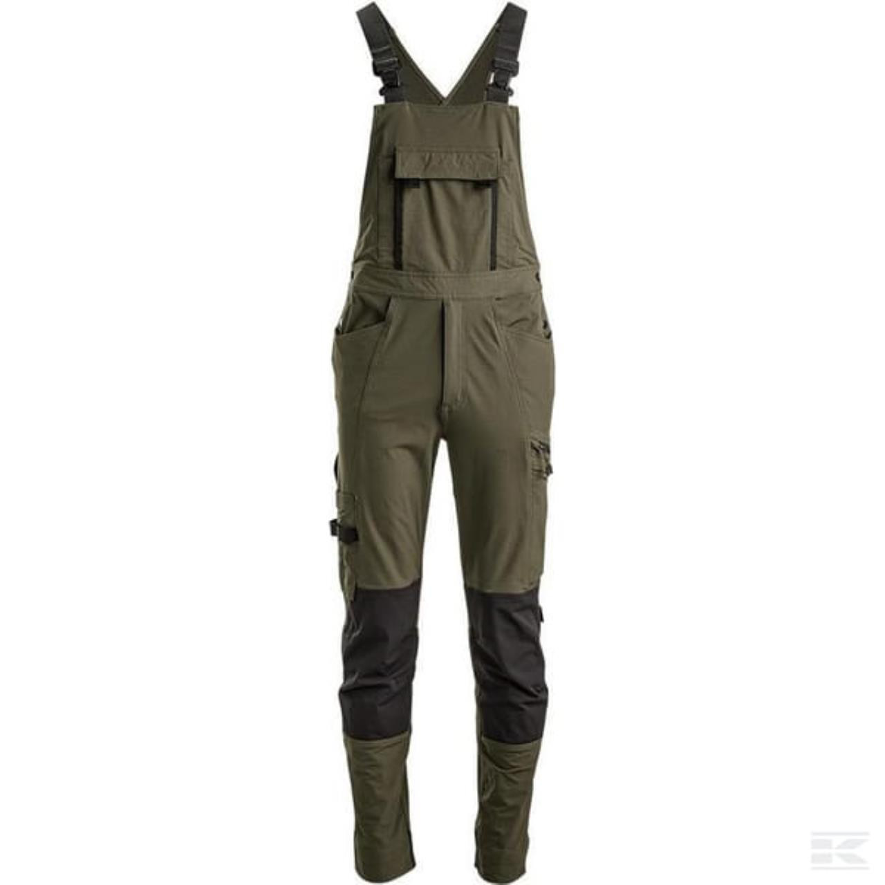 Overalls Technical 4W stretch olivengrøn