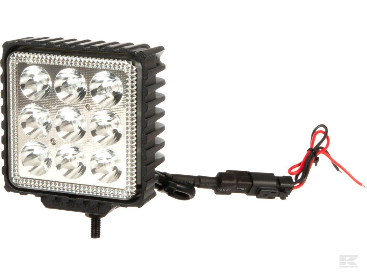 LED arbejdslampe 27W 500lm - blå - spot