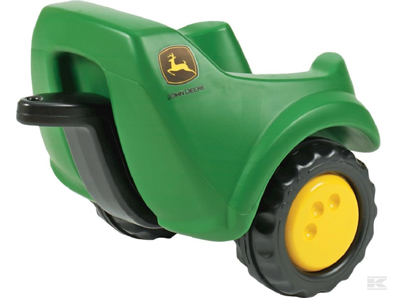 John Deere trailer green