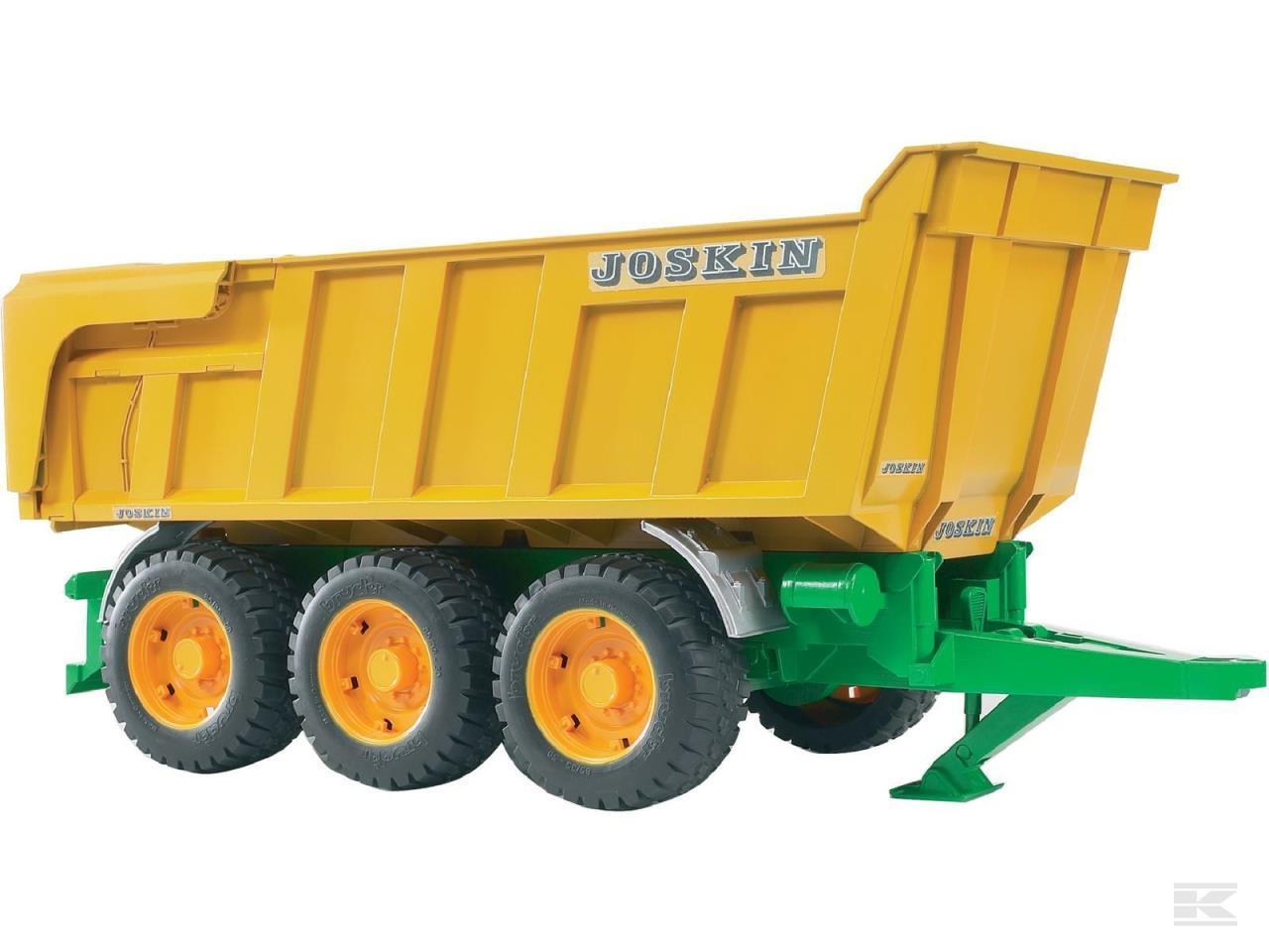 Legetøjs trailer Joskin med ti
