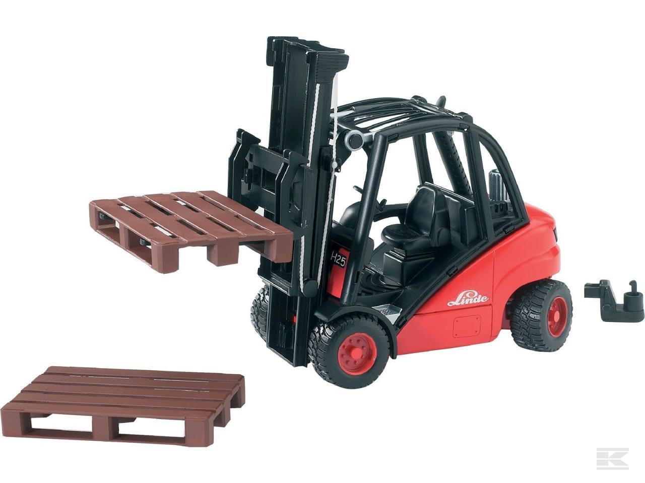 Legetøjs gaffeltruck Linde H30