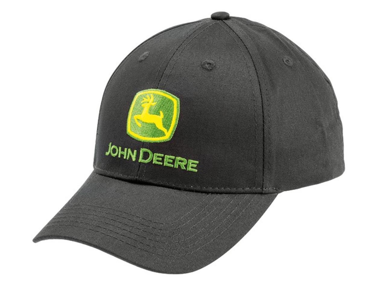 John Deere Trademark Sort Kasket