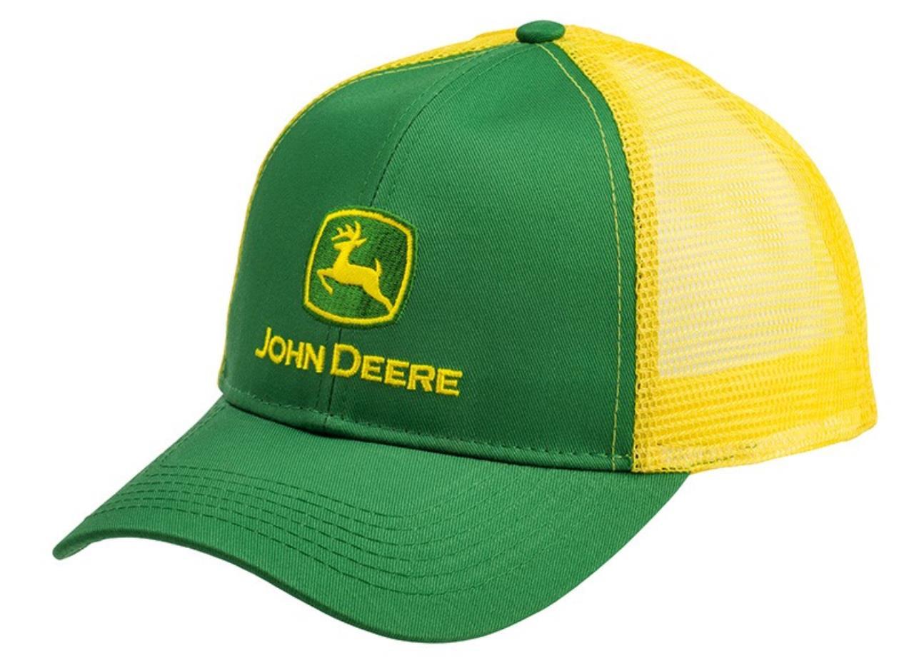 John Deere Kasket m/gul net