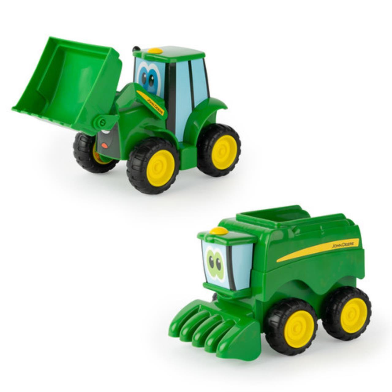John Deere Johnny Traktor og Mejertærsker