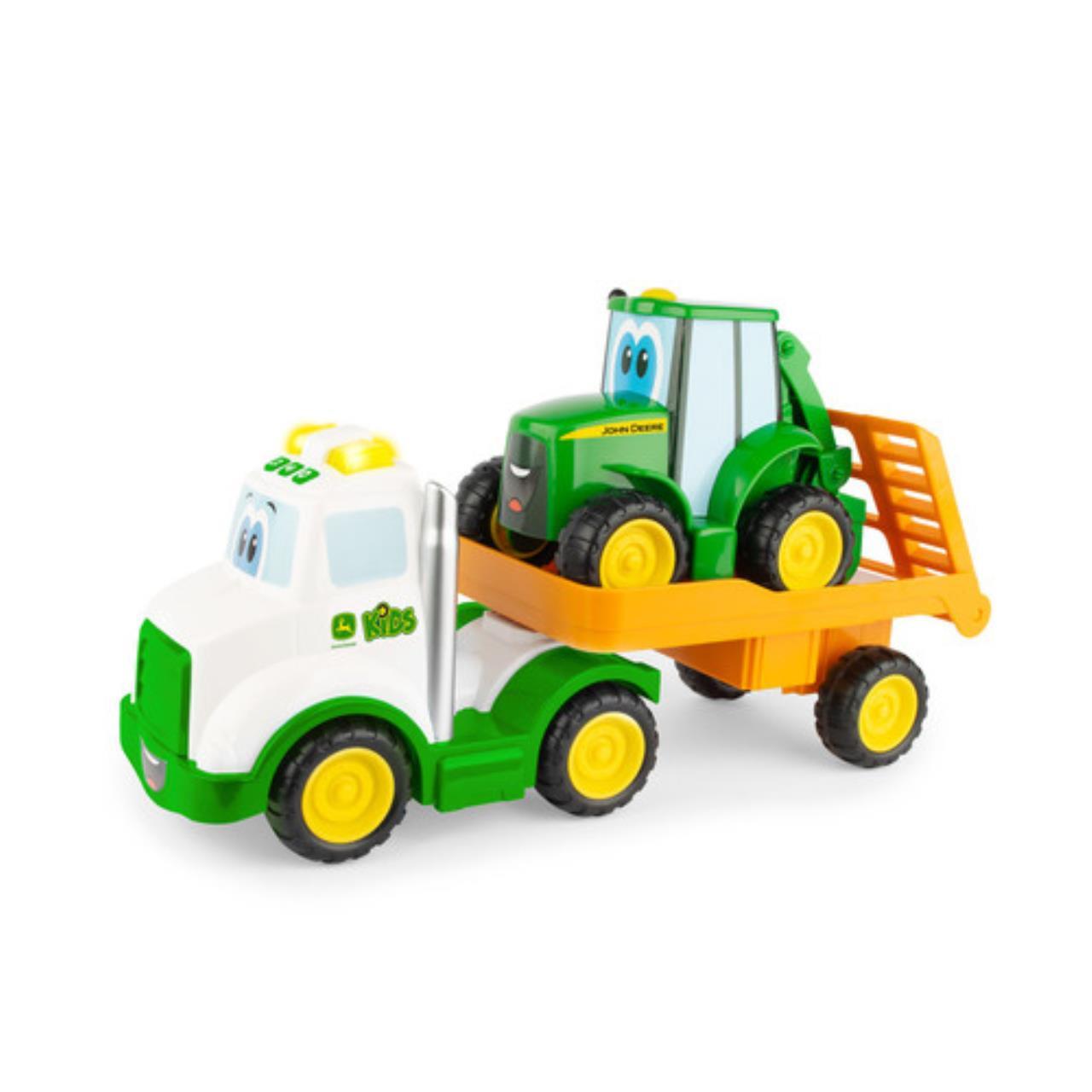 John Deere Traktor m/Lastbil m.lyd