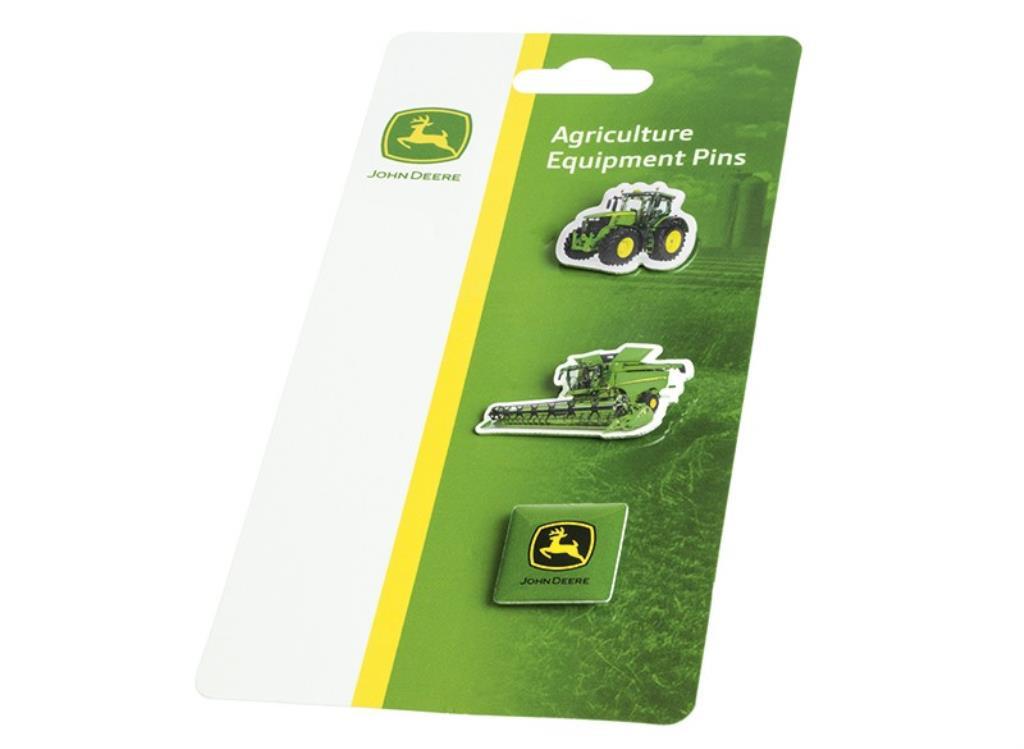 John Deere nål med landbrugsmaskiner