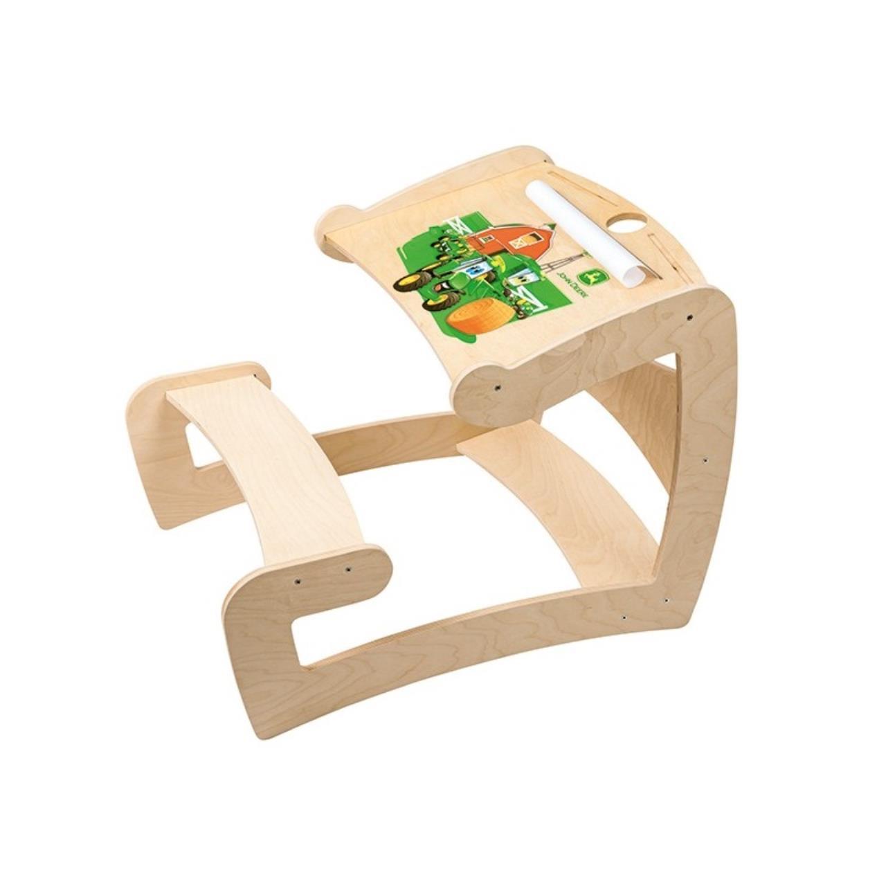 John Deere børne Skrivebord i træ