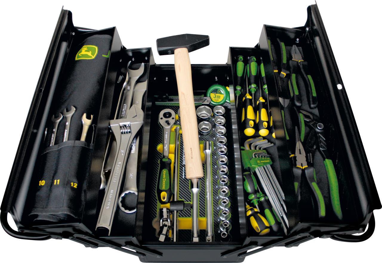 John Deere Værktøjskasse t/T660 mejertæs
