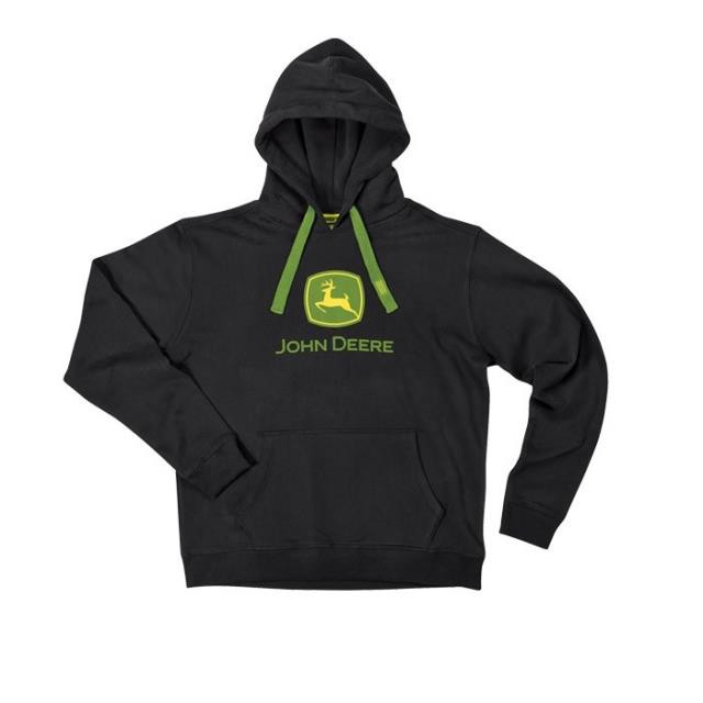 John Deere sweat shirt - sort
