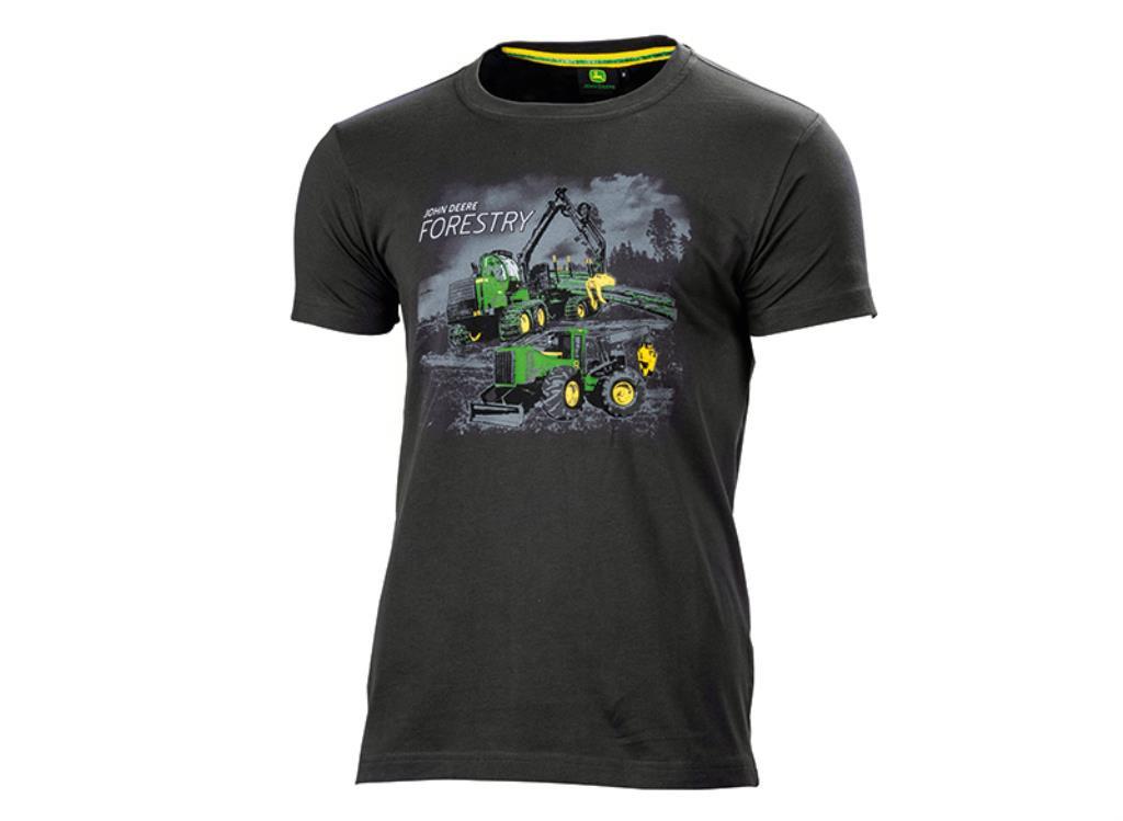"""John Deere T-Shirt """"Skovmaskiner"""""""
