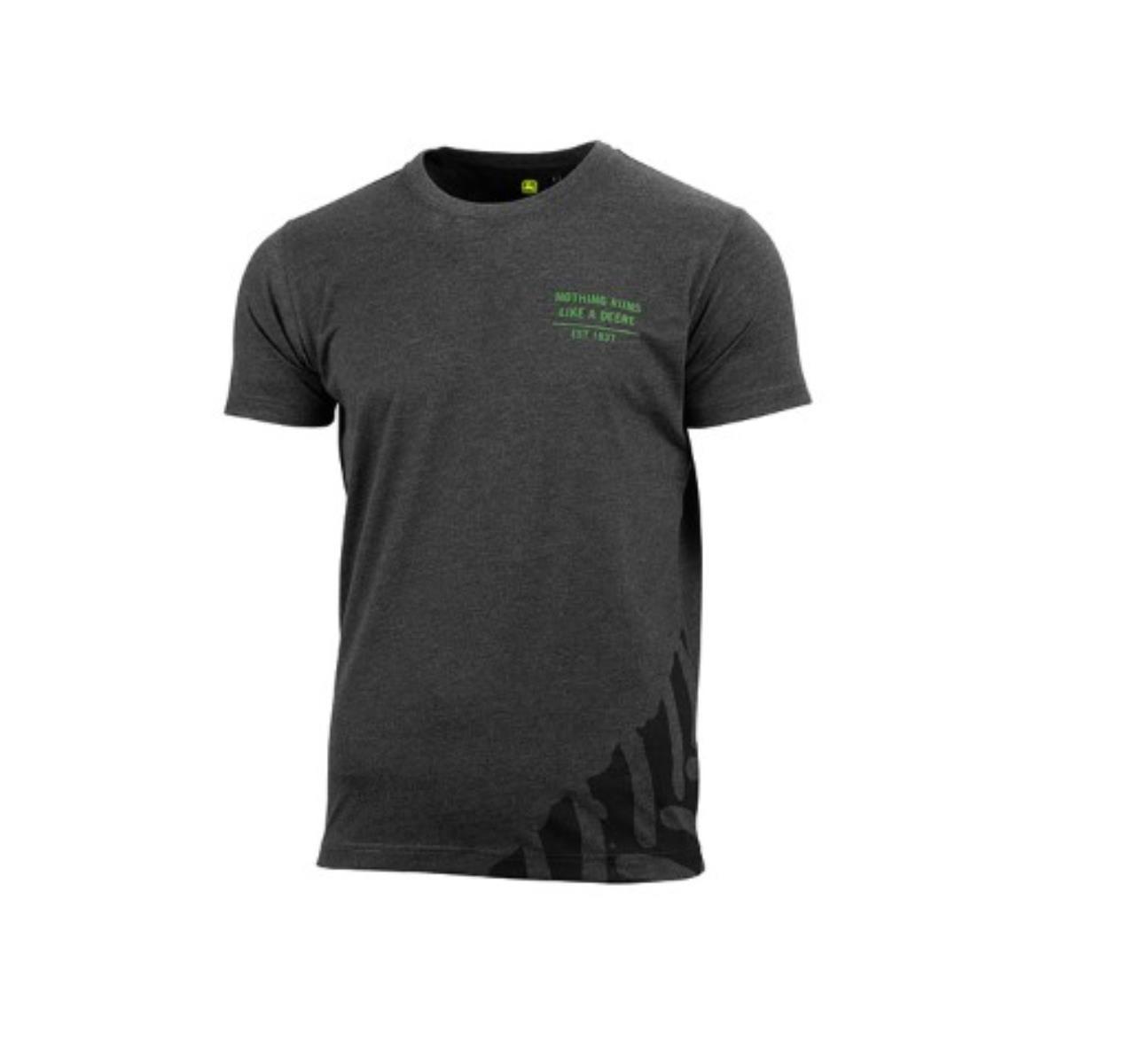 Mørkegrå t-shirt