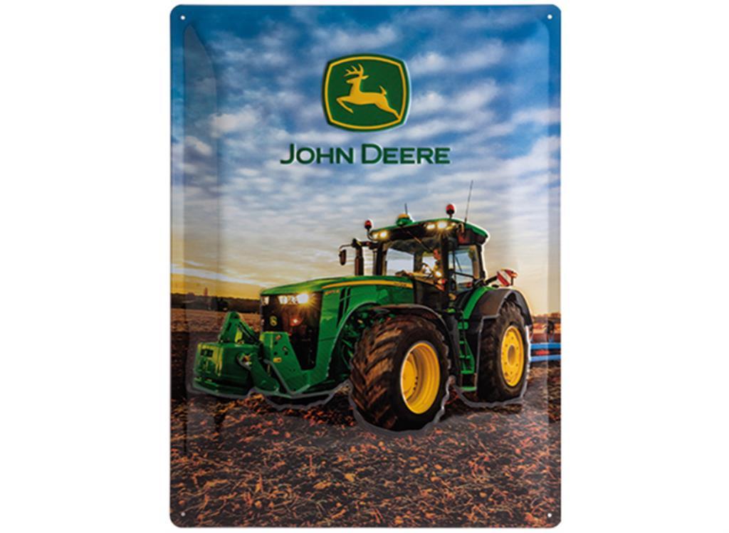 John Deere Blikskilt  8370R