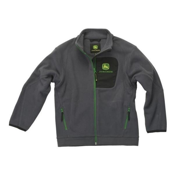 John Deere Fleece jakke - Børn