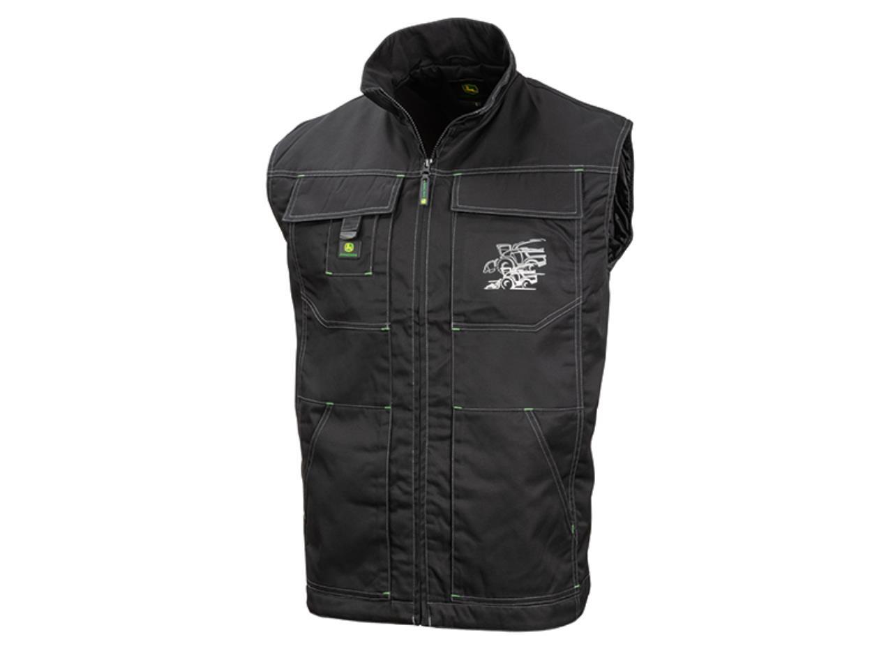 John Deere Vest m/snitter 8500