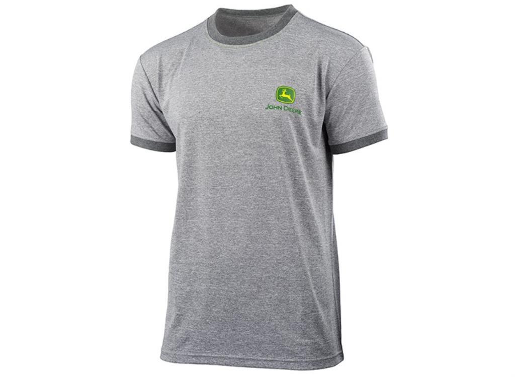 John Deere t-shirt grå
