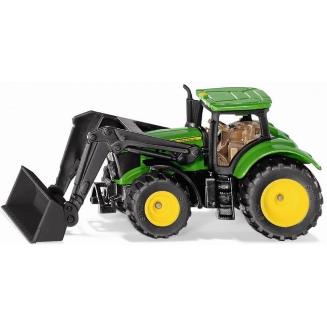John Deere traktor m. frontlæsser