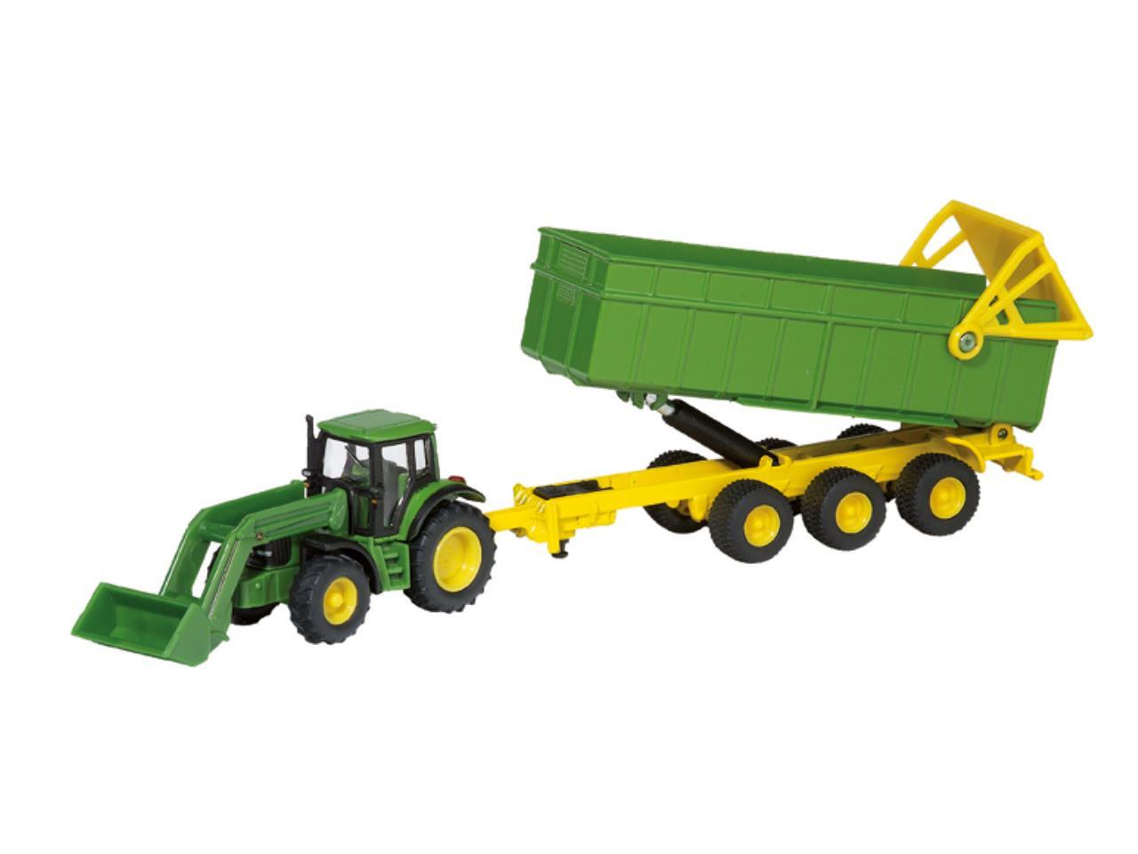 Traktor M Frontlæsser & Anhæng